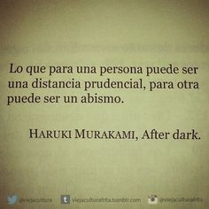 "viejaculturafrita:  ""After dark"" - Haruki Murakami."