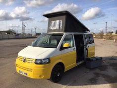 eBay: 2012 12 VW VOLKSWAGEN TRANSPORTER 2.0 TDI SWB T5 4 BERTH CAMPER VAN IN TWO TONE! #vwcamper #vwbus #vw Vw Camper, Campers, Vw Vans, Volkswagen Transporter, T5, Exterior, Colours, Paint, Ebay