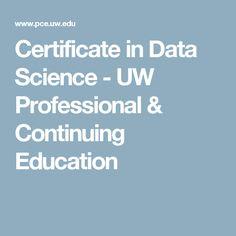 uw machine learning certificate