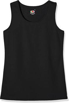 Bekleidung, Damen, Tops, T-Shirts & Blusen, Tops Shirt Bluse, Fruit Of The Loom, Sport, Tank Man, Mens Tops, Fashion, Clothing, Moda, Deporte