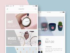 Fundamental Concepts of List UI Design for Mobile Apps Mobile Application Design, Mobile Ui Design, Ui Ux Design, Layout Design, Web Layout, Banner Design, Graphic Design, Card Ui, User Interface Design