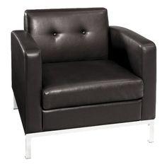 Wall Street Arm Chair - Espresso : Target
