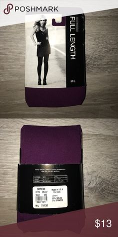 Express full length pantyhose New. Express Accessories Hosiery & Socks