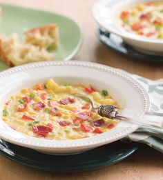 Corn and Bell Pepper Chowder - Bon Appétit