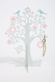 Jewellery tree - love the details on this one. #tree #jewellery #decor
