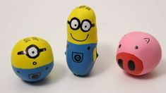 Mignons und Schweinchen basteln als Antistessbälle aus Ballons Minions, Anti Stress Ball, Market Day Ideas, Balle Anti Stress, Minion Craft, Kids Market, Super Mario Party, Sensory Boxes, Carnival Games