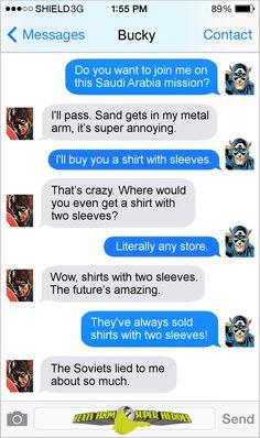 MARVEL U: Texts From Superheroes