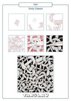 Yah Tangle Doodle, Tangle Art, Doodles Zentangles, Zen Doodle, Doodle Art, Easy Zentangle Patterns, Line Doodles, Letter Stencils, Black And White Drawing
