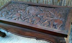 stolík SUMATRA - masív tmavý :: ZEN House exotický nábytok