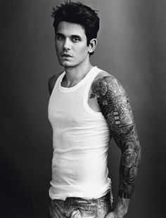 John Mayer.  His tattoos <3