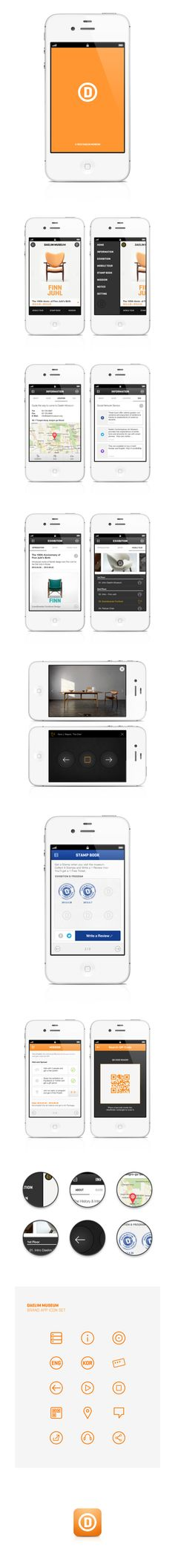 """Daelim Museum Mobile App - """"Located in the center of Seoul, Daelim Contemporary Art Museum aims to offer vitality and relaxation in life, taking """"lifestyle"""" as a central concept, and to function as a comfortable cultural space for city dwellers. Use this app to get information about the museum and exhibitions, learn about artists and works by listening audio guides, get a stamps for a free ticket, accomplish the missions for special gifts."""""""