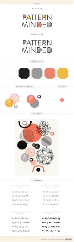 Pattern Minded design by Aeolidia
