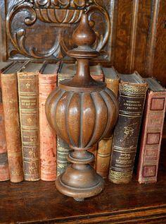 Columbus Architectural Salvage   Carved Wood Newel Post Cap $154   Salvaged  Artifacts And Found Objects   Pinterest   Newel Post Caps, Newel Posts And  ...