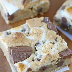 . S'mores Bars Recipe from Grandmothers Kitchen.