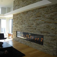 Contemporary Fireplace Design, Pictures, Remodel, Decor and Ideas - page 9