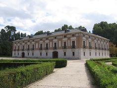 Madrid Aranjuez Jardin Principe Casa Labrador Parte Trasera