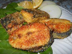 Recipe for fried fish bonito - Fish Recipes Burger Recipes, Fish Recipes, Vegetable Recipes, Seafood Recipes, Cooking Recipes, Pan Burgers, Salmon Burgers, Turkish Recipes, Italian Recipes