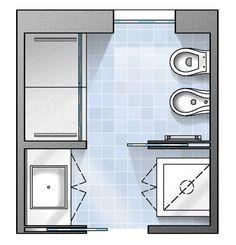 Oltre 1000 idee su planimetrie di case su pinterest for Planimetrie del bagno con armadi