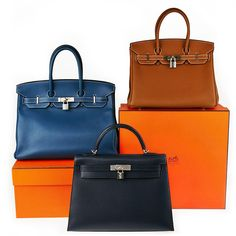 Hermes Kelly and Birkin Bags