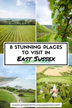 From wine tasting at Ridgeview Wine to exploring Charleston and Alfriston, these are the best places to visit in East Sussex, England! #EastSussex #EastSussexAttractions #EastSussexGuide #EastSussexTravel #PlacesToVisitInEastSussex #ThingsToDoInEastSussex #WhatToDoInEastSussex #Alfriston #Ridgeview #Rathfinny #England #VisitEngland #UK Beautiful Places To Visit, Cool Places To Visit, British Travel, European Travel, Things To Do In London, East Sussex, Travel Destinations, Travel Europe, Ireland Travel