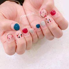 Short nails design