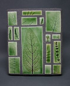 Most current Free Slab Pottery leaves Style Garden leaves mosaic Clay Wall Art, Ceramic Wall Art, Ceramic Clay, Clay Art, Slab Pottery, Ceramic Pottery, Pottery Art, Handmade Tiles, Handmade Pottery