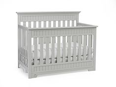 Fisher Price Lakeland 5 In 1 Convertible Crib Misty Grey Cribs Canada