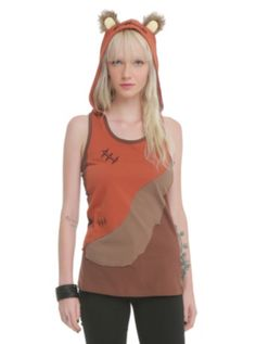 Star Wars Her Universe Ewok Hooded Tank