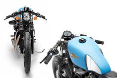 Choppershotz: Harley davidson Iron 883 Cafe' Racer