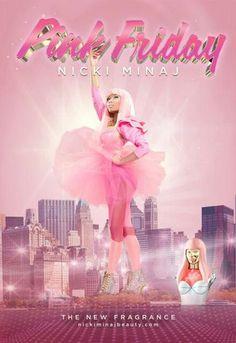 Nicki Minaj's PINK Friday Fragrance Ads   perfume.org
