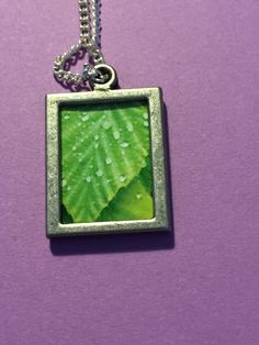 Leaf picture, photo pendant, water on a leaf, nature photo by Frogkissers on Etsy https://www.etsy.com/listing/251818009/leaf-picture-photo-pendant-water-on-a