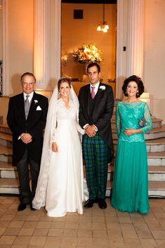 Principe Antonio de Orleans Bragança (família Real brasileira),Princesa Amelia de Orleans e Bragança, Alexander James Spearman e Princesa Christine de Ligne.