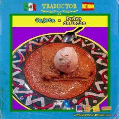 Disfruta unas deliciosas crepas de cajeta en nuestros restaurantes #MexicanosenEspaña #Traductor #LaPanzaesPrimero www.lapanzaesprimero.com