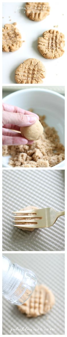 Secrets to the best peanut butter cookies