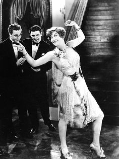 "Joan Crawford in ""Our Dancing Daughters"""