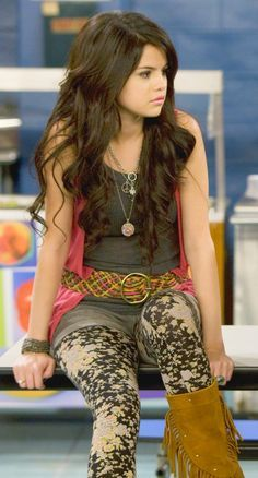 Wizards Of Waverly Place. Alex Russo outfit.