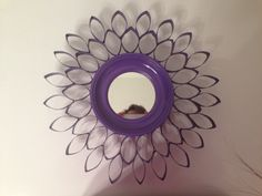 Small toilet paper roll mirror