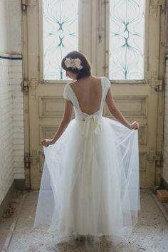 Hochzeitskleid.