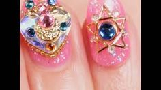Image result for sailor moon nails Sailor Moon Nails, Sailor Moon Makeup, Art Club, Nail Inspo, Gemstone Rings, Nail Art, Drop Earrings, Image, Jewelry