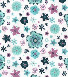 Premium Quilt Elena Cotton Fabric 44''-Floral All Over