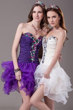 Party Dresses Long Youthful Balllily Sweetheart Beads Short Prom Dresses Crystal Lace Up Ruffles Mini Party Graduation Gown Ball Cheap L1 Designer Gowns For Party From Idolto, $33.9| Dhgate.Com