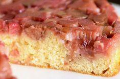 carolynn's recipe box: Rhubarb Upside Down Cake