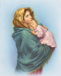 フェルツィ「街角の聖母」