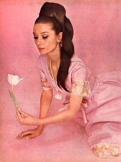 Audrey Hepburn for Vogue, 1964.
