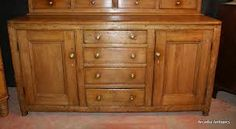Antique pine dresser with brass knobs. For more cupboard knob ideas click below: http://www.priorsrec.co.uk/door-furniture/cupboard-knobs/brass-cupboard-knobs/c-p-0-0-3-15-16