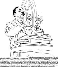 martin luther king coloring pages figure coloring pages kidsdrawing free coloring pages online