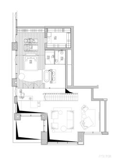 Image 12 of 12 from gallery of G-Residence / Gali Amit. Floor Plan