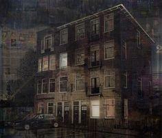 Weesperzijde van Martijn Hesseling @Tami Arnold Fraser Art Gallery Knokke/Brugge