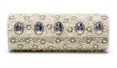 Beautiful jeweled wedding clutch