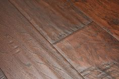 "Hickory Coffee 3/8 x 5"" Hand Scraped | Engineered Hardwood Flooring | WeShipFloors"